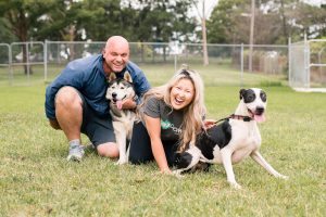 January 2019 Pet Sitters of the Month Cynthia and Paul