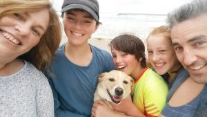 May Pet Sitter of the Month Donna and her Family