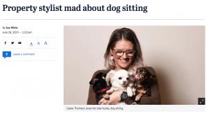 Mad Paws Sydney Morning Herald Press Media