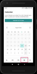 Calendar - App Screenshot