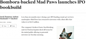 AFR Mad Paws