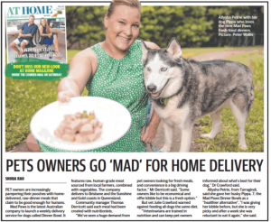 Courier Mail Dinner Bowl